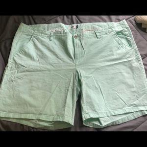 Old Navy Mint Green Bermuda Shorts